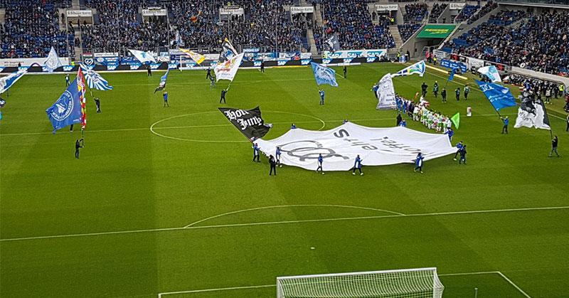 Bundesligaspiel der TSG 1899 Hoffenheim